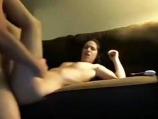 Nice amateur girl fucking sucking and facial