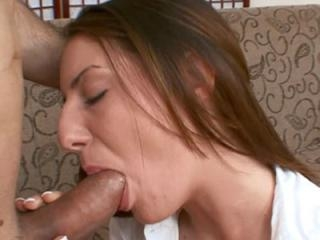 Innocent brunette Taylor Mae gets her tight twat p