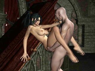 The Man And The Harlot - Crazy 3D anime xxx archiv