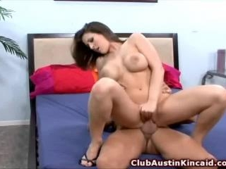 Austin Kincaid slides hard cock into her pussy